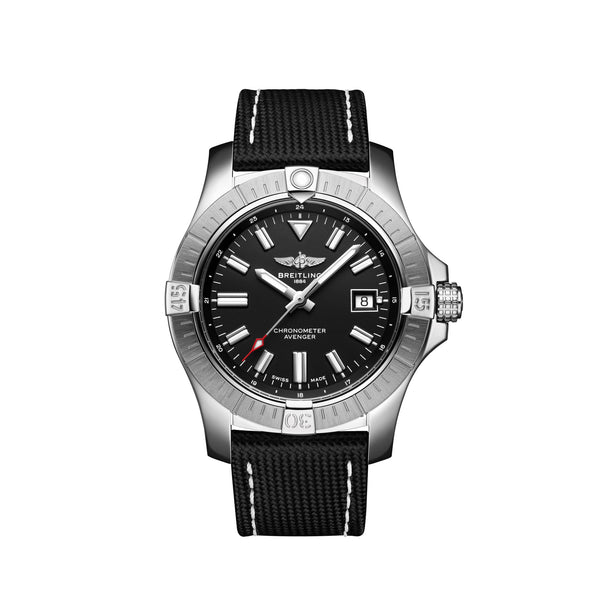 Breitling Avenger Automatic 43 Steel Black A17318101B1X2 Face
