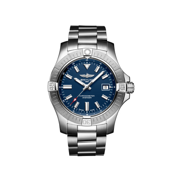 Breitling Avenger Automatic 43 Steel Blue A17318101C1A1 Face