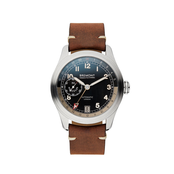 Bremont H-4 Hercules Limited Edition Stainless Steel Watch H-4/SS Face