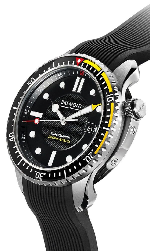 Bremont Supermarine S2000 Yellow 45mm S2000/YLW Crown