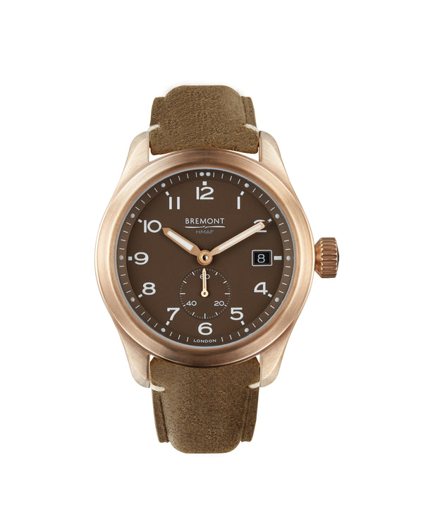 Bremont Broadsword Bronze - Tobacco watch 40mm