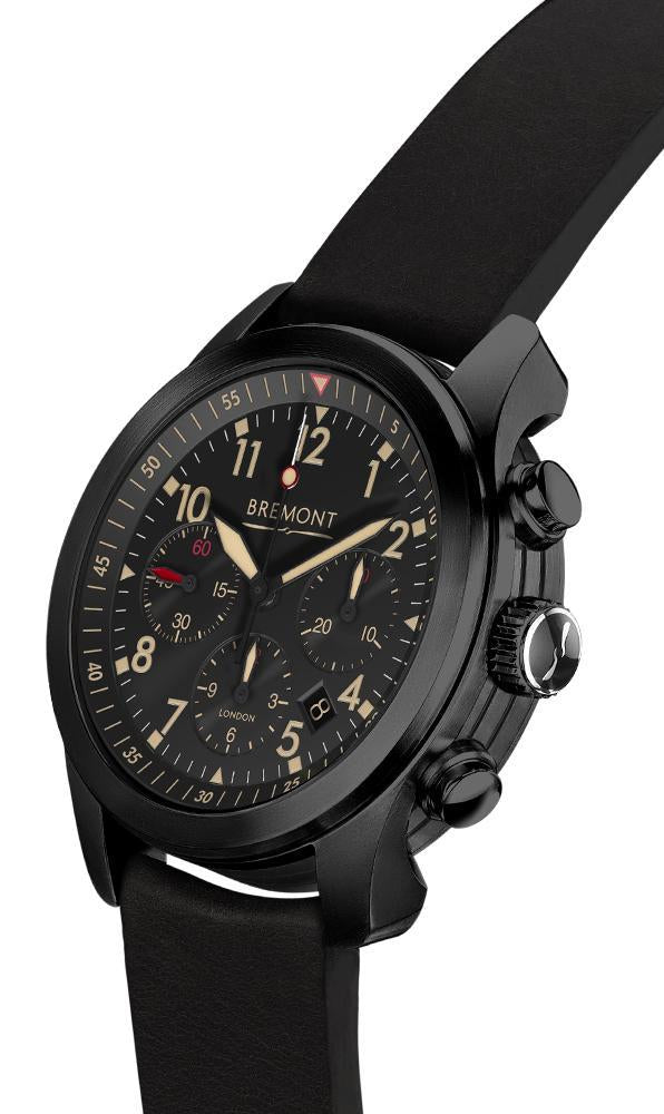 Bremont ALT1-P2-JET Black Pilot Watch 43mm ALT1-P2 JET