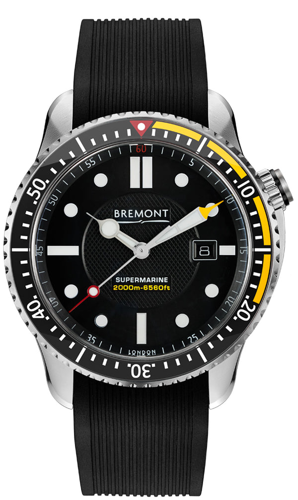 Bremont Supermarine S2000 Yellow 45mm S2000/YLW Face