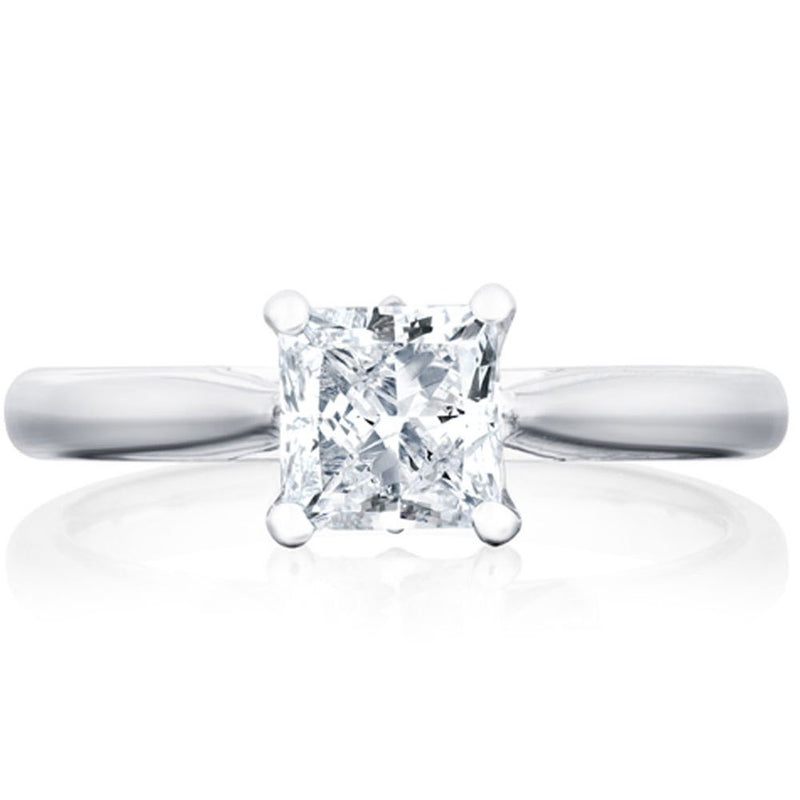 Platinum 1.91ct GVS2 Certified Princess Cut Diamond Solitaire Ring