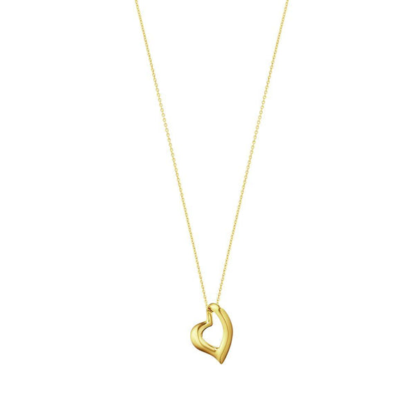 Georg Jensen Hearts of Georg Jensen Pendant - 18ct. YELLOW GOLD