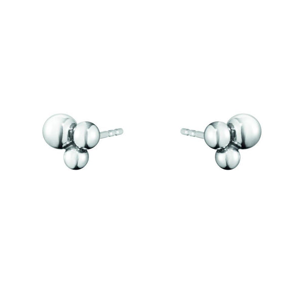 Georg Jensen Moonlight Grapes Stud Earrings - Sterling Silver