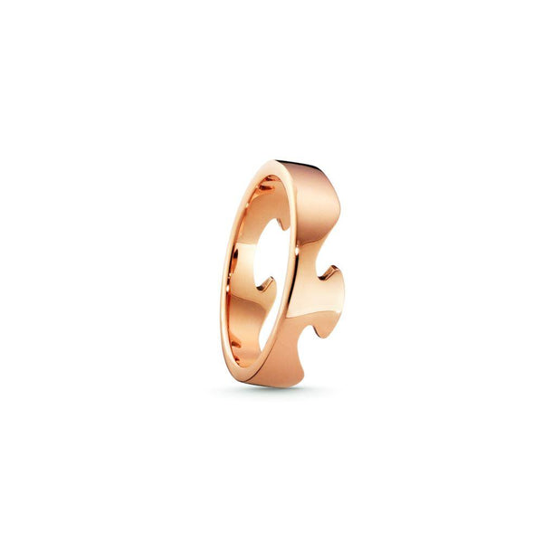 Georg Fusion End Ring - 18 ct. Rose Gold