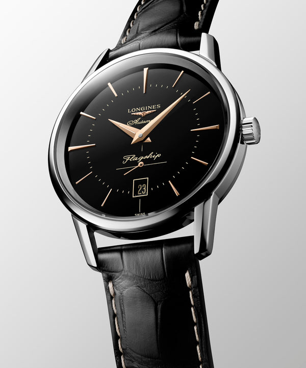Longines Flagship Heritage Watch 38.5mm L47954580 Seduction