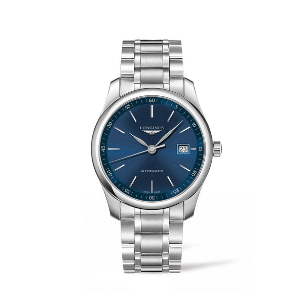 Longines Master Collection Blue Dial & Steel Bracelet 40mm