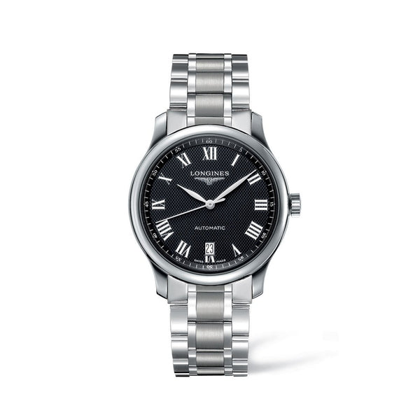 Longines Master Collection Black Dial & Steel Bracelet 38.5mm