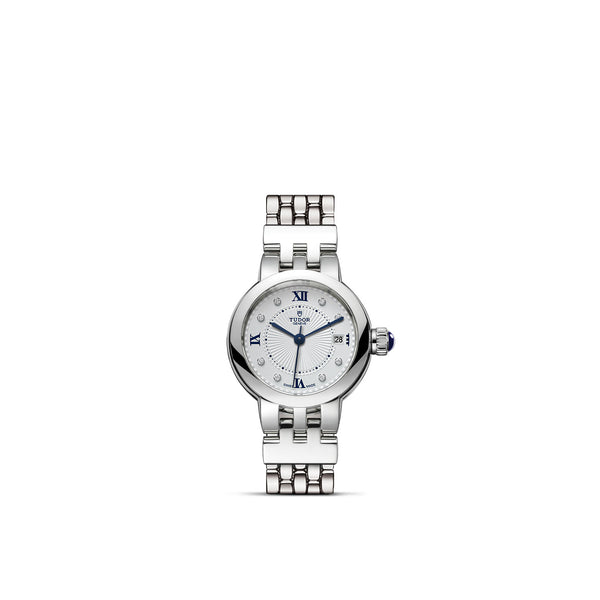 Tudor Clair De Rose Watch 26mm M35200-0004 Face