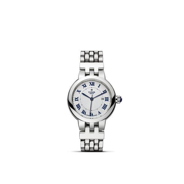 Tudor Clair De Rose Watch 30mm M35500-0001 Face