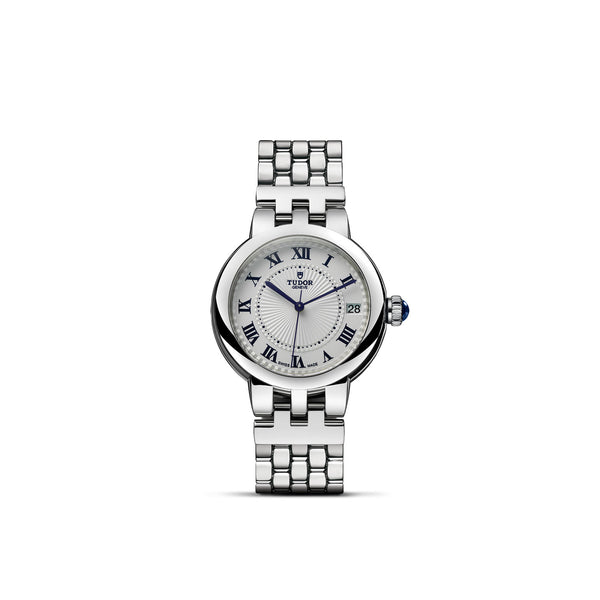 Tudor Clair De Rose Watch Steel 34mm M35800-0001 Face