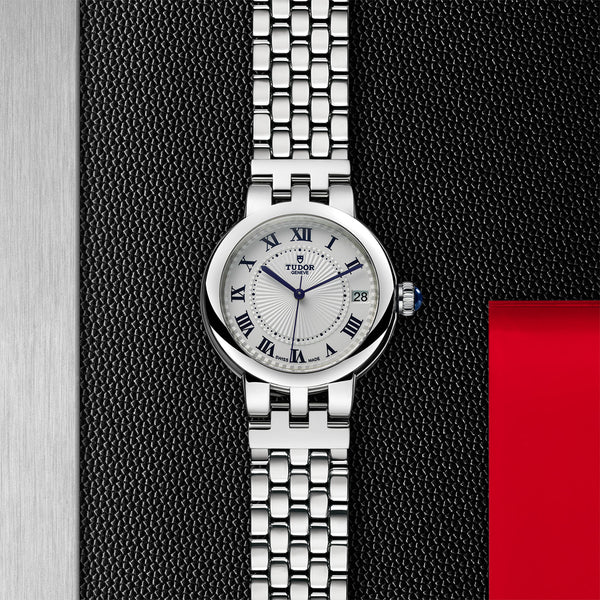 Tudor Clair De Rose Watch Steel 34mm M35800-0001