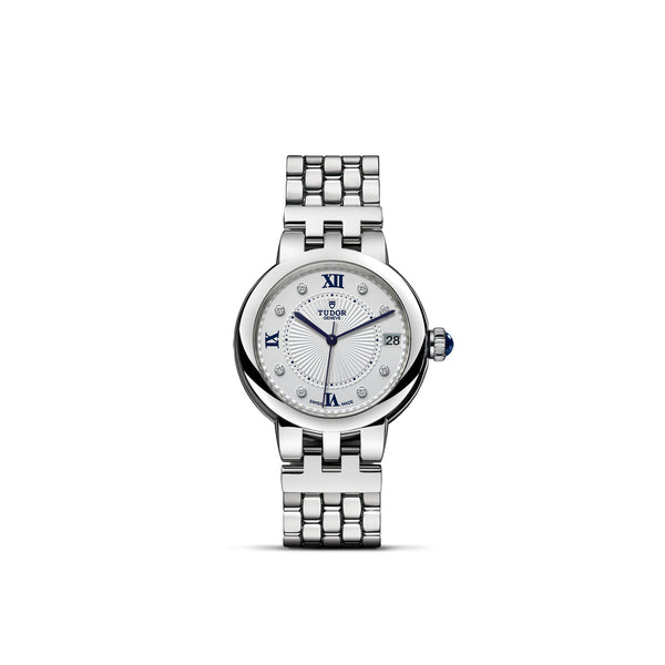 Tudor Clair De Rose Watch 34mm M35800-0004 Face