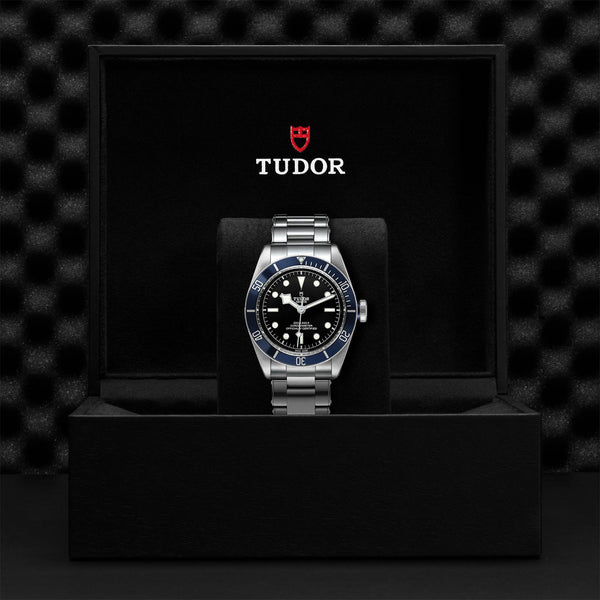 Tudor Black Bay Watch Blue Bezel & Steel Bracelet 41mm M79230B-0008 Presentation Box