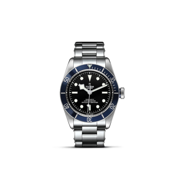 Tudor Black Bay Watch Blue Bezel & Steel Bracelet 41mm M79230B-0008 Face