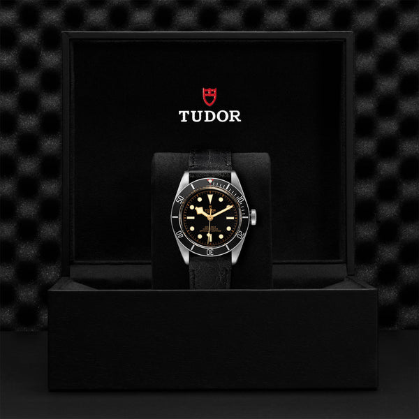 Tudor Black Bay Watch Black Bezel & Leather Bracelet 41mm M79230N-0008 Presentation Box