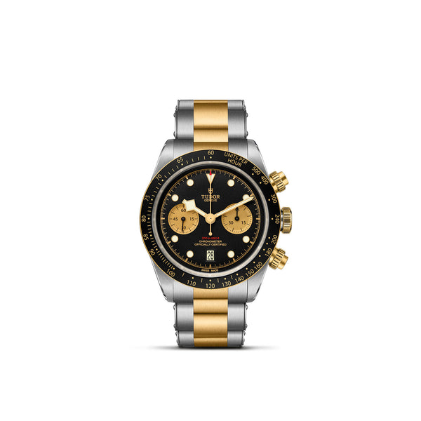 Tudor Black Bay Chrono S&G Bracelet M79363N-0001 Face