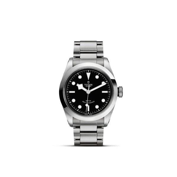 Tudor Black Bay 41 Watch Black Dial & Steel Bracelet 41mm M79540-0006 Face