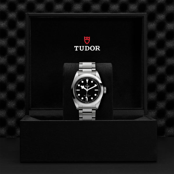 Tudor Black Bay 41 Watch Black Dial & Steel Bracelet 41mm M79540-0006 Presentation Box