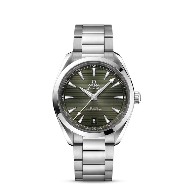 Omega Seamaster Aqua Terra 150M Co-Axial Master Chronometer Green 41mm 220.10.41.21.10.001