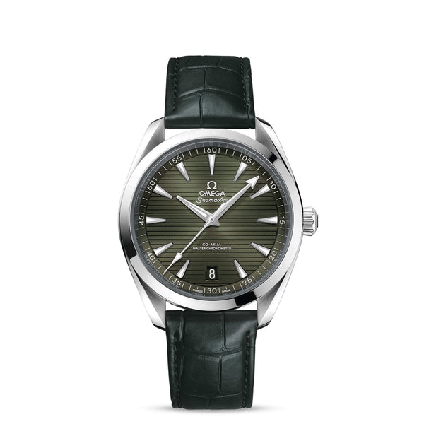 Omega Seamaster Aqua Terra 150M Co-Axial Master Chronometer Green 41mm Face