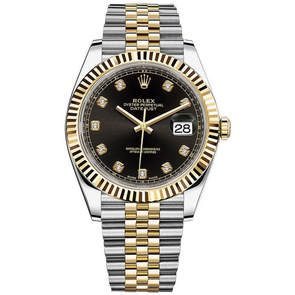 Pre-Owned Rolex Datejust 41 Watch 126333 front view