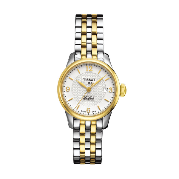 Tissot Le Locle Automatic Yellow Gold PVD & Steel 25.3mm T41218334