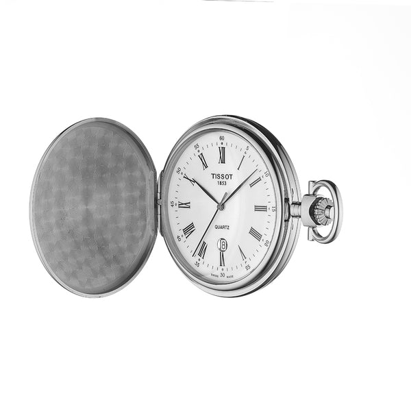 Tissot Savonnette Stainless Steel Pocket Watch T83655313