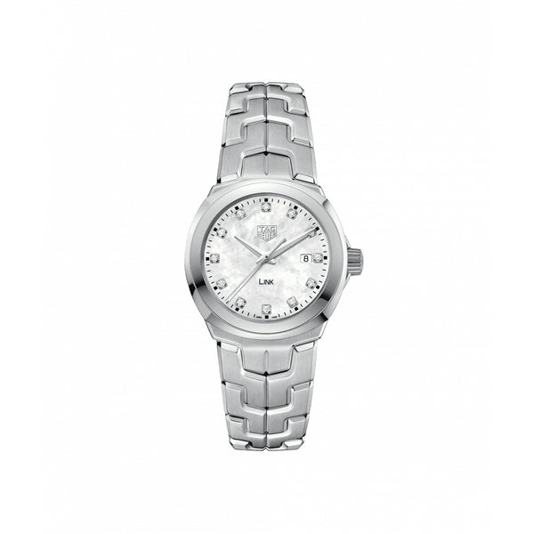 TAG Heuer Link Quartz Lady Watch WBC1312.BA0600 WBC1312.BA0600 Face