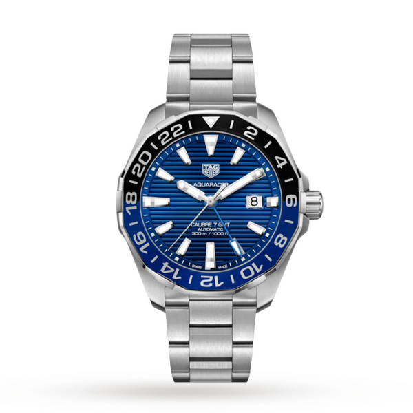 TAG Heuer Aquaracer Calibre 7 GMT 43mm WAY201T.BA0927