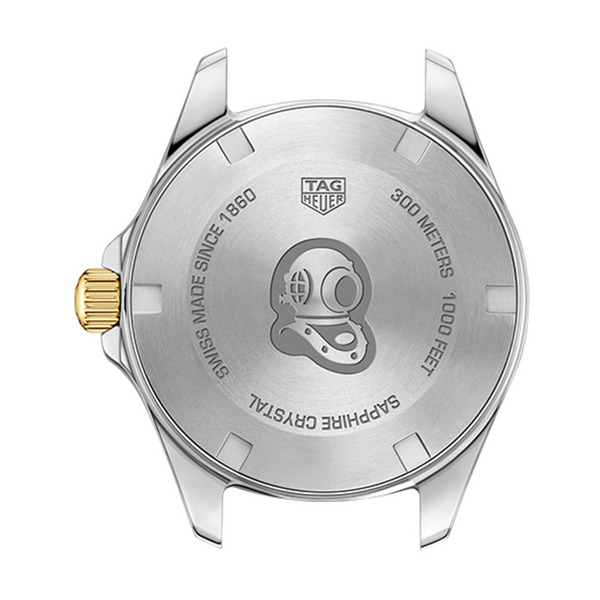 TAG Heuer Aquaracer Steel & Gold 32mm WBD1325.BB0320 Case Back