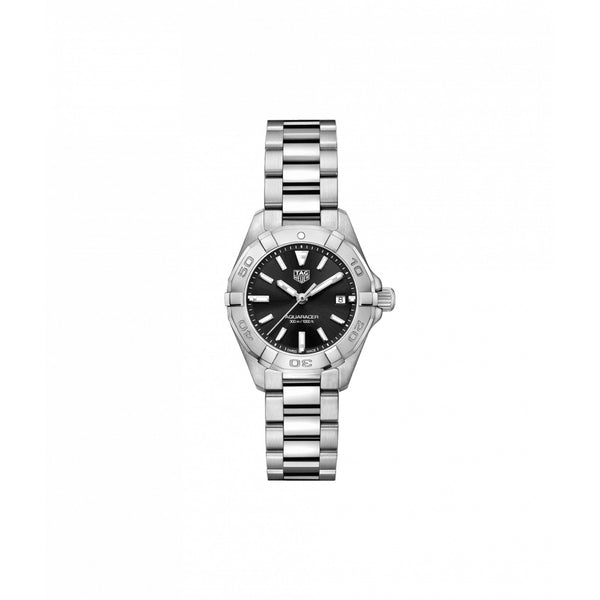 TAG Heuer Aquaracer Quartz Ladies Watch 27mm WBD1410.BA0741 Face
