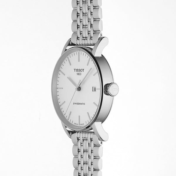 Tissot Everytime Swissmatic White Dial & Stainless Steel Bracelet 40mm T1094071103100