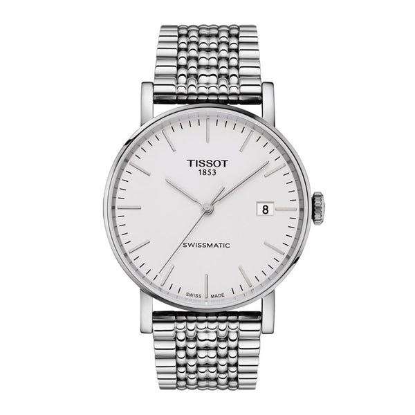 Tissot Everytime Swissmatic White Dial & Stainless Steel Bracelet 40mm