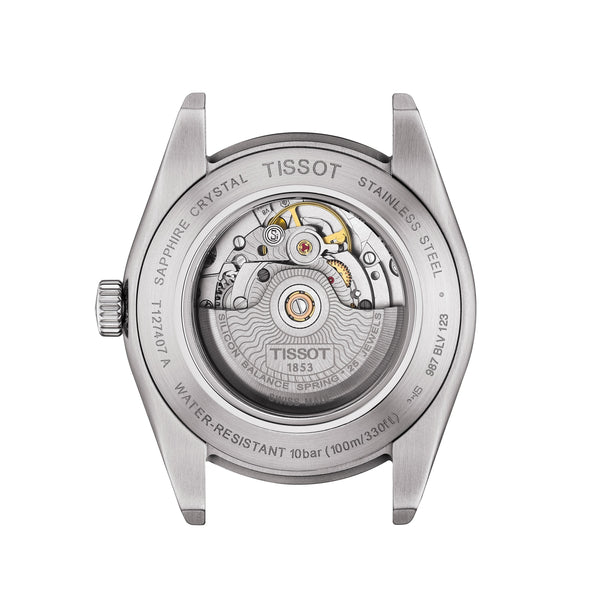 Tissot Gentleman Powermatic 80 Silicium 40mm T1274071105100 caseback
