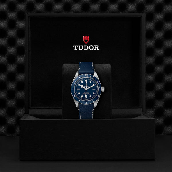 Tudor Black Bay Fifty-Eight Navy Blue Leather Strap M79030B-0002 in Presentation Box