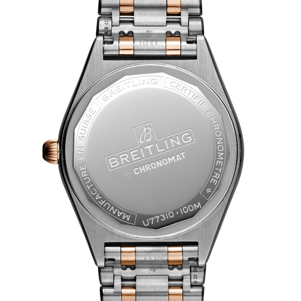 Breitling Chronomat 32 Steel & 18K Red Gold - Silver U77310101A1U1