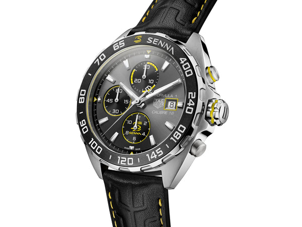 TAG Heuer Formula 1 Automatic Chronograph Senna Special Edition Watch CAZ201B.FC6487 Seduction
