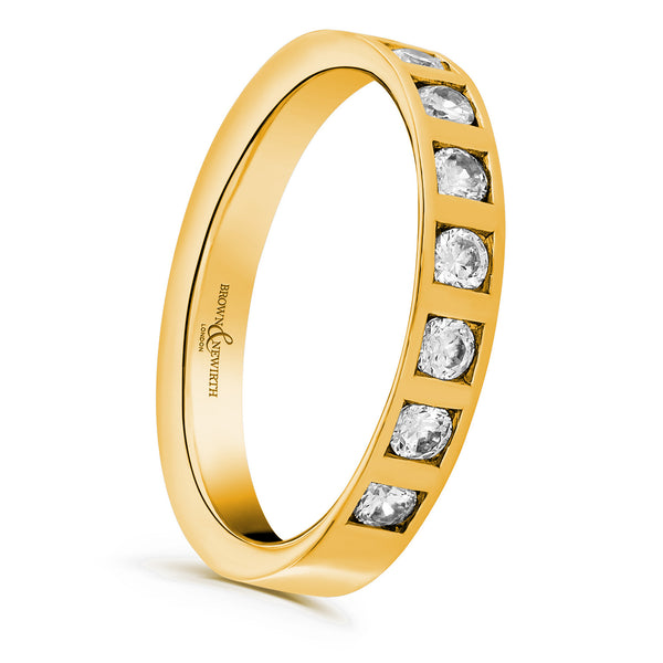 Ladies Juno wedding ring from Brown & Newirth.