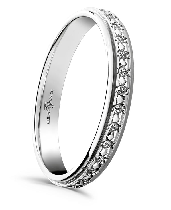 Brown & Newirth Ladies Stella Wedding Ring