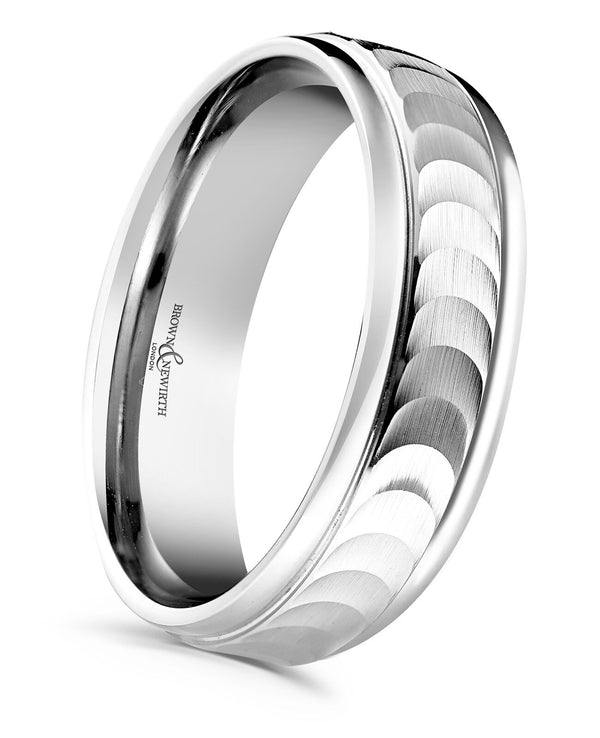 Brown & Newirth Mens Eclipse Wedding Ring