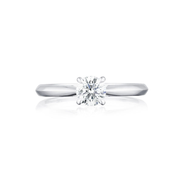 Winchester Collection Platinum 0.30ct Round 4CL Diamond Ring