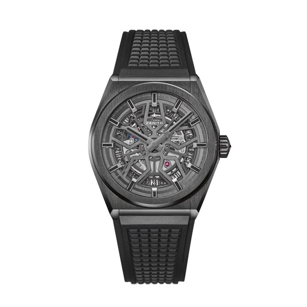 Zenith Defy Classic Black Ceramic Watch 41mm 49.9000.670/77.R782