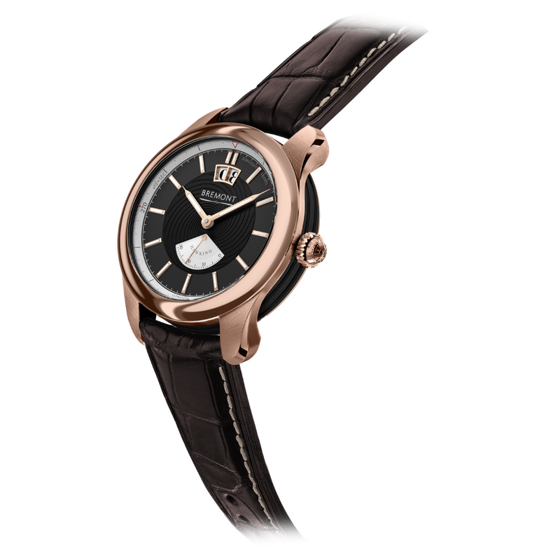Bremont Hawking Limited Edition Watch - Rose Gold side