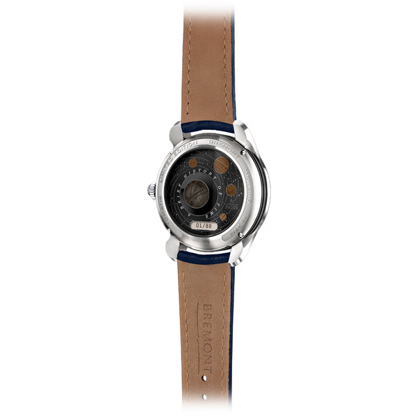 Bremont Hawking Limited Edition Watch - White Gold caseback