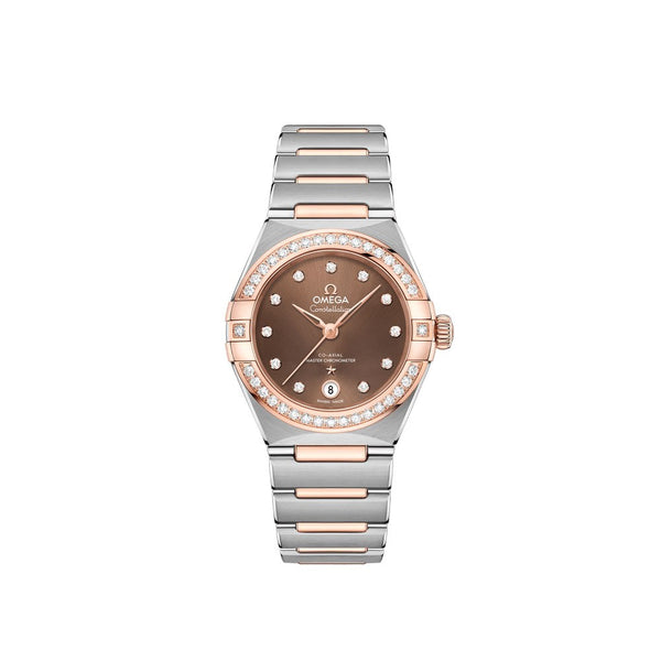 Omega Constellation Manhattan Co-Axial Chronometer Watch 29mm Face