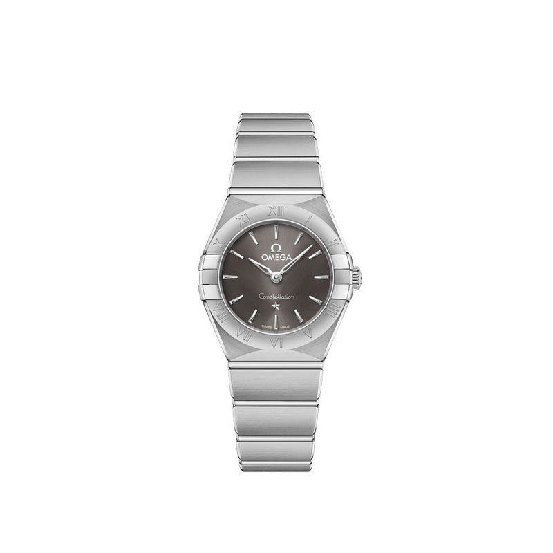 Omega Constellation Manhattan Stainless Steel Quartz Watch 25mm Face