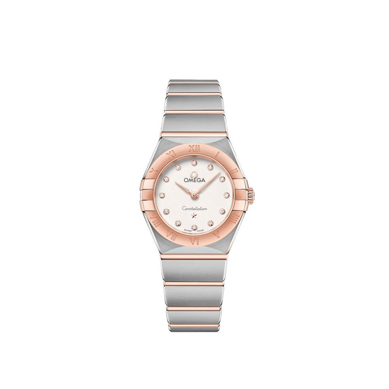 Omega Constellation Manhattan Quartz Watch 25mm Face